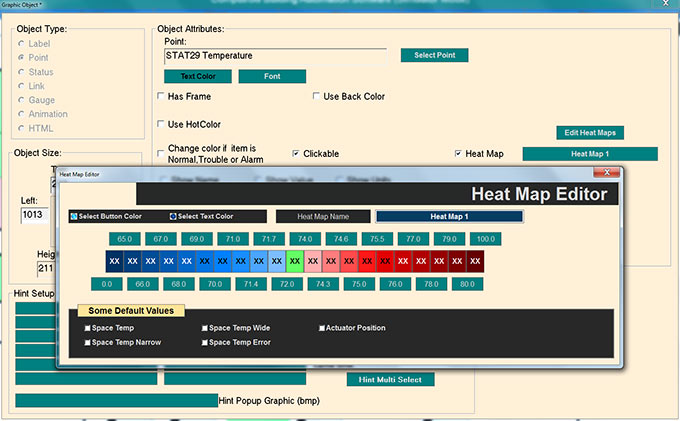 CBAS Heat Map Editor